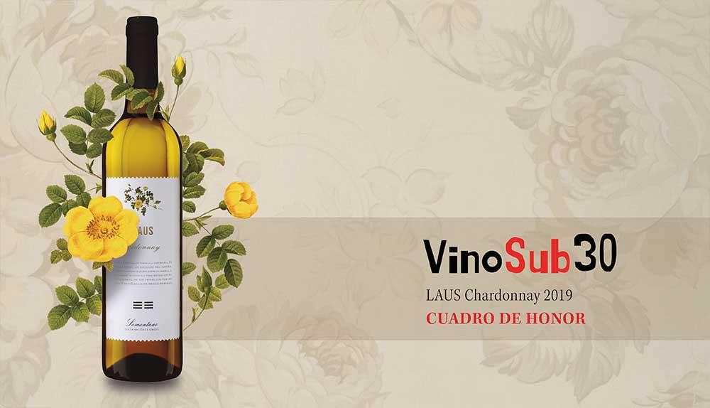 Lluvia de medallas para nuestros vinos LAUS en los Premios VinoSub30 2020