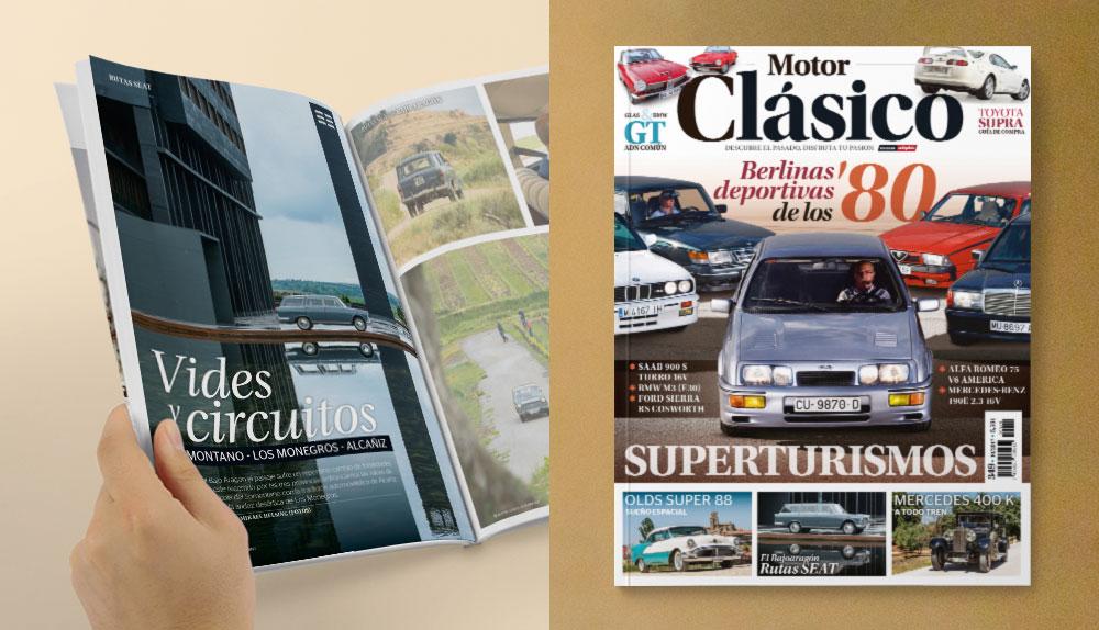 Enología y vehículos clásicos en Bodega LAUS